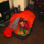 C'est une tente pour deux !! si si !