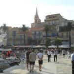 Promenade sur le port de Calvi